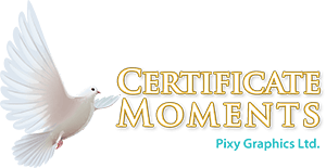 Certificate Moments Ireland Logo