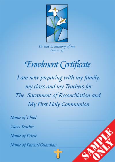 Enrolment Certificate E24