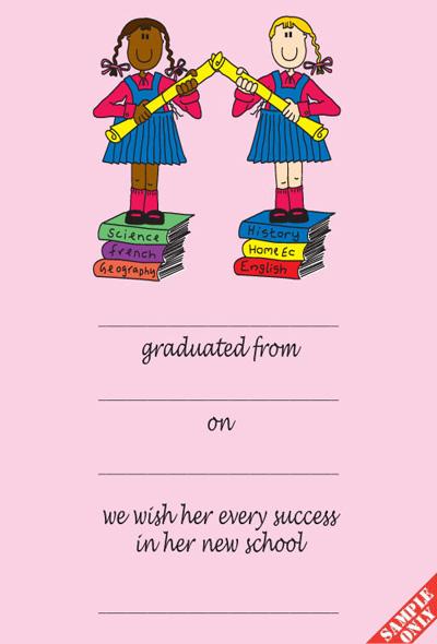 Creche/Montessori Graduation Certificate Ref G86/BN