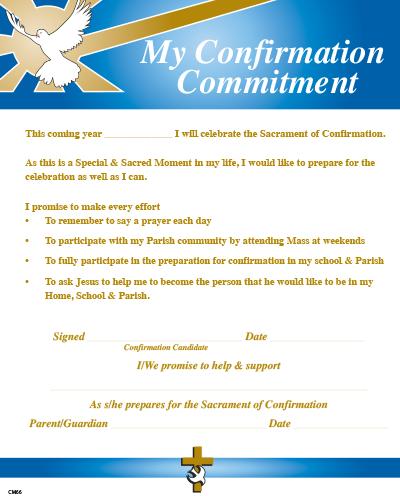 Confirmation Enrolment / Commitment Certificate CM66