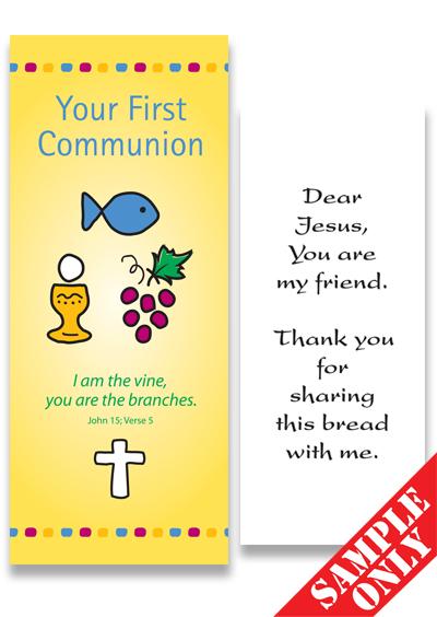 Communion Prayer Card Ref PC23