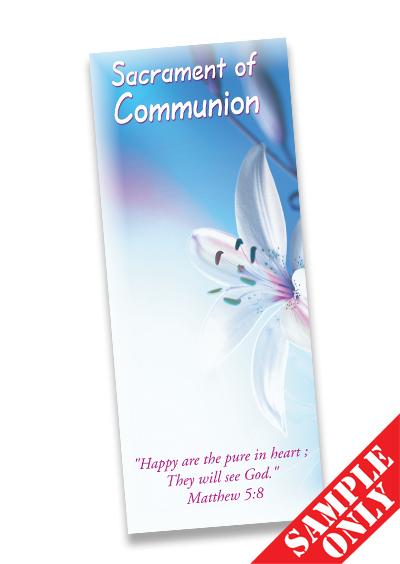 Communion Prayer Card Ref PC26