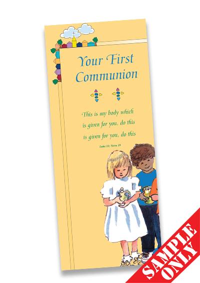 Communion Prayer Card Ref PC27