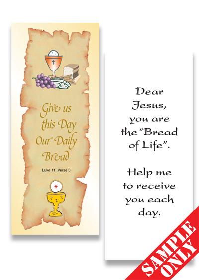 Communion Prayer Card Ref PC29