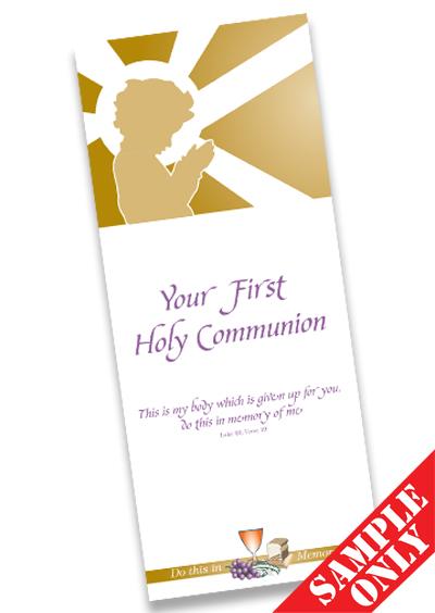 Communion Prayer Card Ref PC30