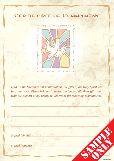 Confirmation Enrolment / Commitment Certificate C51
