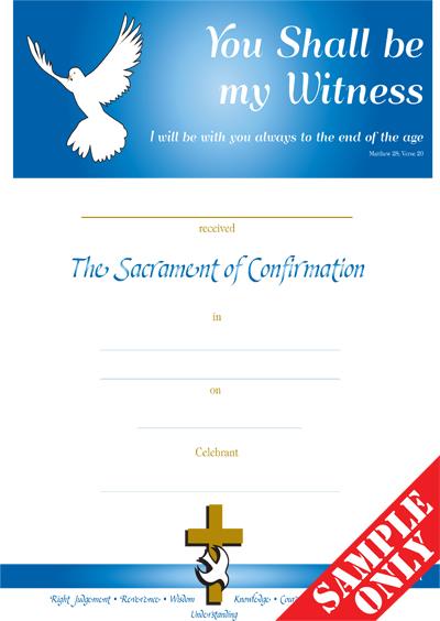 Confirmation Certificate C66