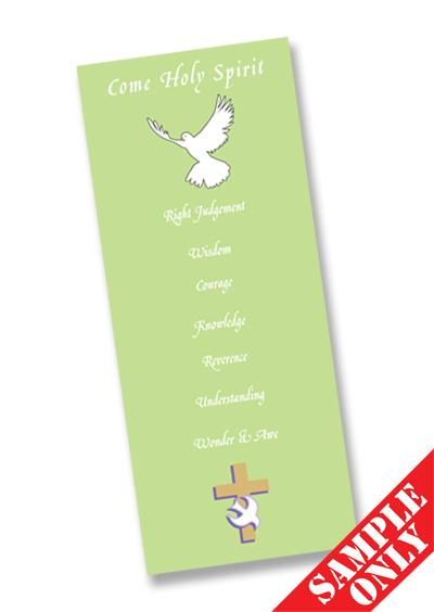 Confirmation Prayer Card Ref PC69