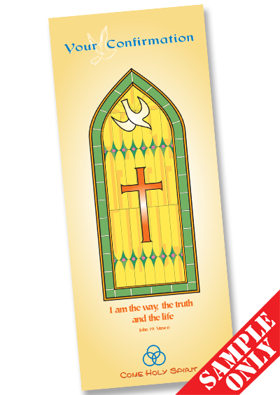 Confirmation Prayer Card Ref PC63