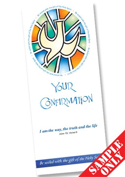 Confirmation Prayer Card Ref PC64