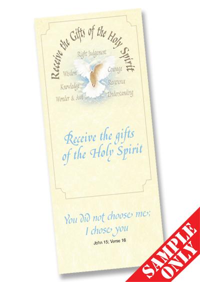 Confirmation Prayer Card Ref PC67