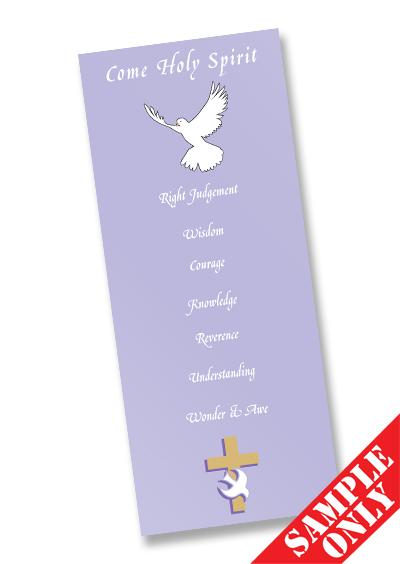 Confirmation Prayer Card Ref PC70