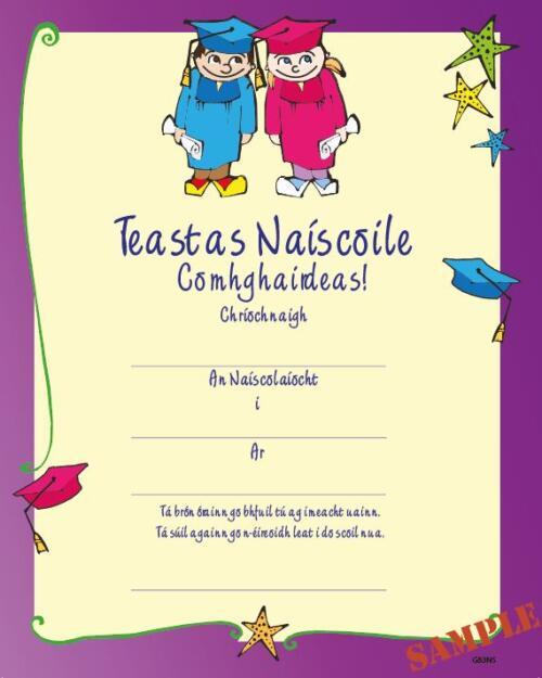 Graduation Naiscoil Certificate